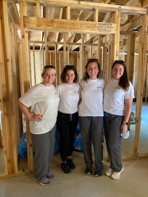 The Dermatology Clinic supports the Habitat's Women Build 2020 project