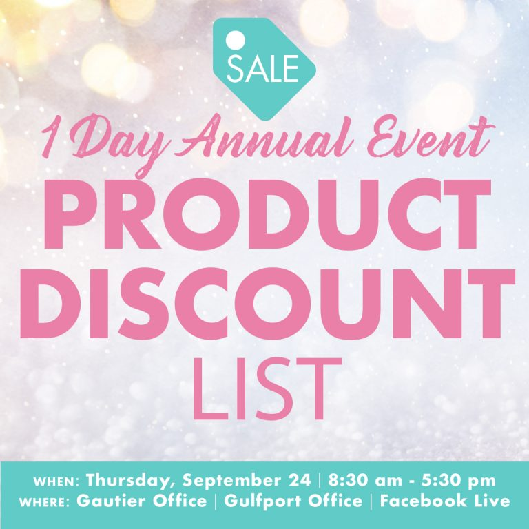 1 Day Event Products Discount