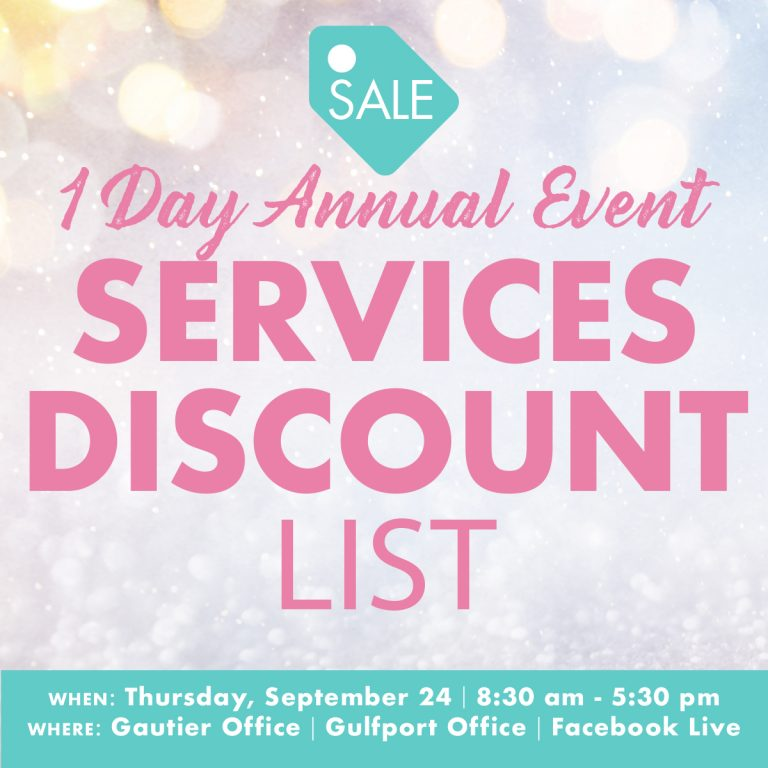 1 Day Event Services Discount